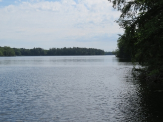 A beautiful view of Long Lake.