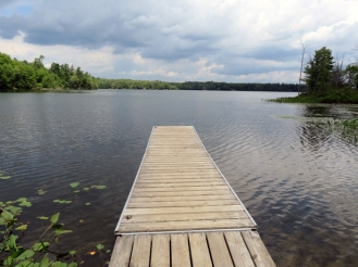 A wonderful spot to launch your kayak or canoe.