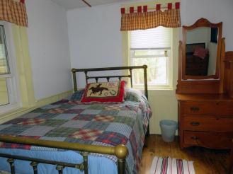 Cozy bedroom on the main floor.
